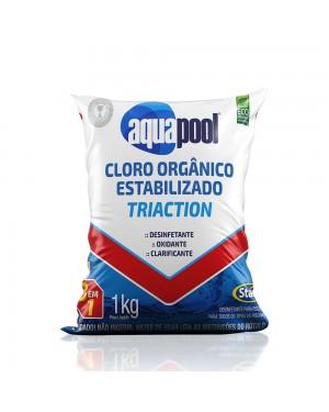 Cloro Gran. 3x1 Triation Aquapool 1 Kg