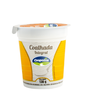 Coalhada Coopatos 130g Integral