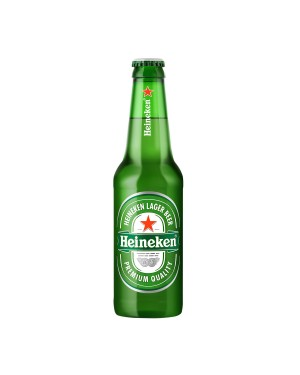 Cerveja Heineken 250ml Shot Long Neck