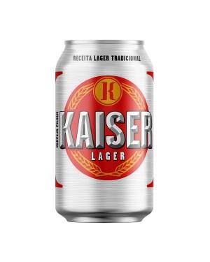 Cerveja Kaiser 350Ml Lata
