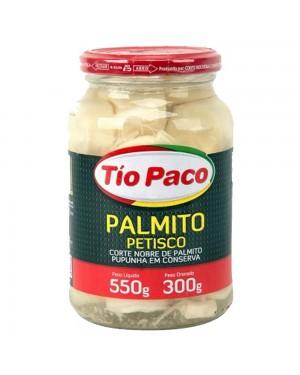Palmito Pupunha Petisco Tio Paco 300G