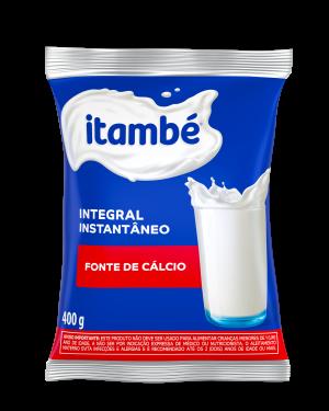 Leite em Po Itambé 400G Int. Instantaneo Sachê Calcio
