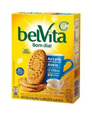 Biscoito Belvita 75g Leite