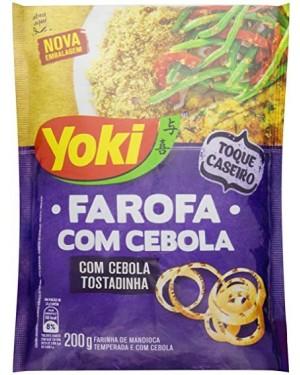 Farofa Yoki Mandioca Cebola 200G