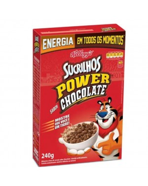 Cereal Power Chocolate Sucrilhos 240G
