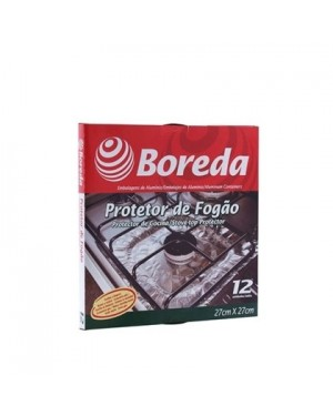 Forra fogão Boreda 12 Unidades 27X27Cm