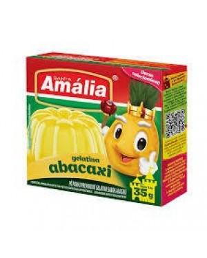 Gelatina Santa Amália 35g Abacaxi