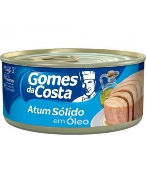 Atum Gomes Costa 130G sólido em oleo