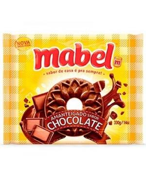 Biscoito Mabel Amanteigado 330G Chocolate