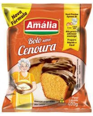 Mistura Bolo Santa Amália 400g Cenoura