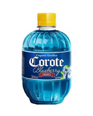 Coquetel Corote 500ml Alcoólico Blueberry