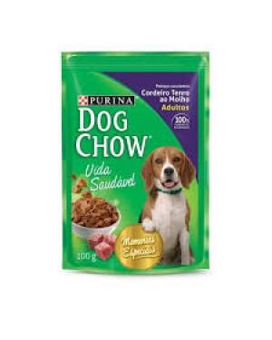Ração Dog Chow 100G Sache Molho Cordeiro