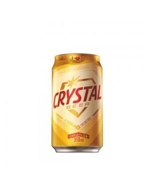 Cerveja Crystal 350Ml Lata