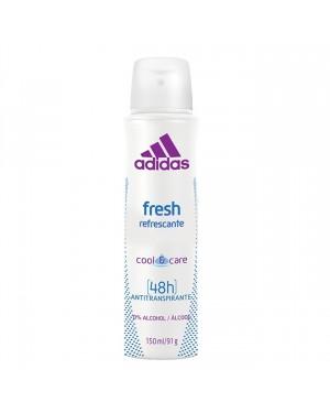 Desodorante Adidas Aerosol 150ML  Fresh 48hrs Feminino