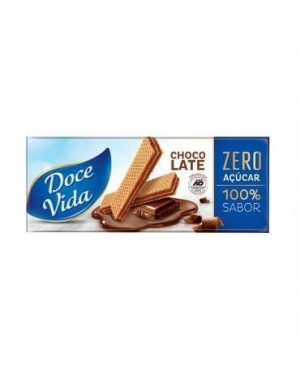 Biscoito Doce Vida Wafer Chocolate 115g