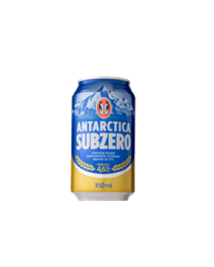 Cerveja Antárctica 350Ml Sub Zero Lata Ambev
