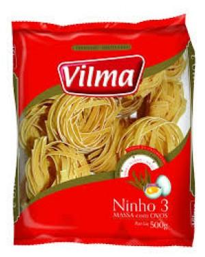Macarrão com Ovos Ninho 3 Vilma 500G