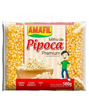 Milho de Pipoca Amafil 500G