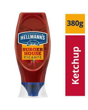 Ketchup Picante Hellmans 380G