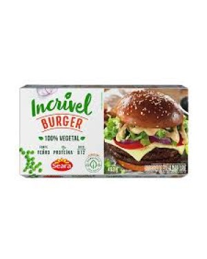 Hambúrguer Incrivel Burger Carne Seara 452G