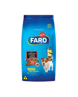 Ração Faro 1Kg raças pequenas cozido Carne Cereais