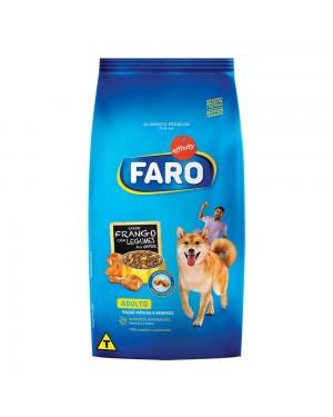 Ração Faro 1Kg Adulto raças Medias Frango Legumes