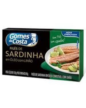 File Sardinha Gomes Costa 85G Limão