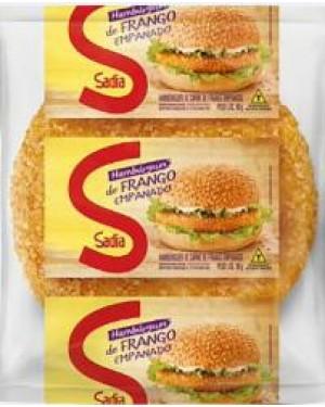 Hambúrguer Sadia Frango 56G