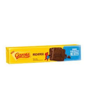 Biscoito Garoto Recheado 130G chocolate