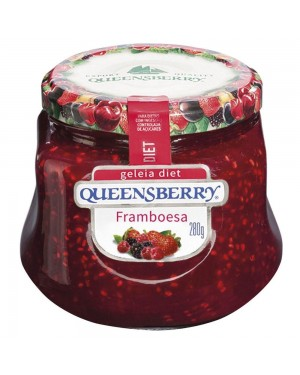 Geleia Queens Berry Diet 280G Framboesa
