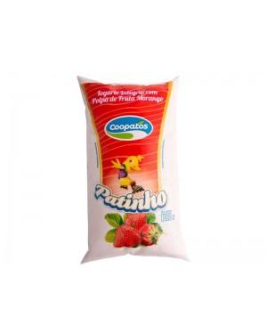 Iogurte Coopatos Patinho Morango 1L