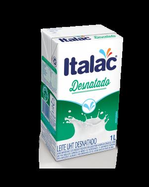 Leite Italac 1L Desnatado