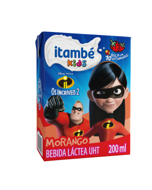 Bebida Lactea Itambezinho 200ML Morango