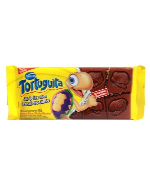 Chocolate Arcor Tortuguita 100G Leite Crocante