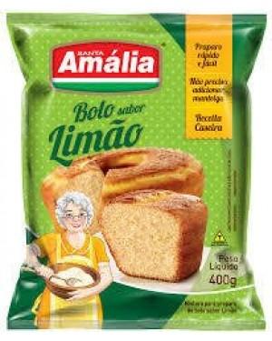 Mistura Bolo Santa Amália 400g Limão