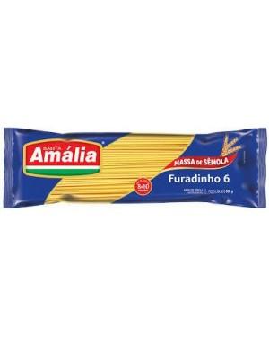 Macarrão Santa Amália 500G Sêmola Furadinho 6