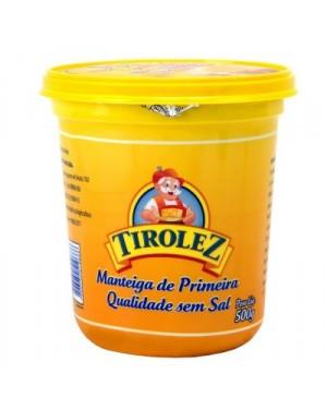 Manteiga Sem Sal Tirolez 500G