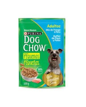 Ração Dog Chow 100G Sache Mix Frango Peru