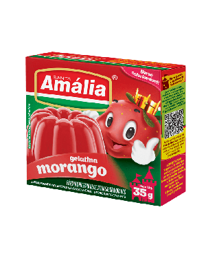 Gelatina Santa Amália 20G Morango