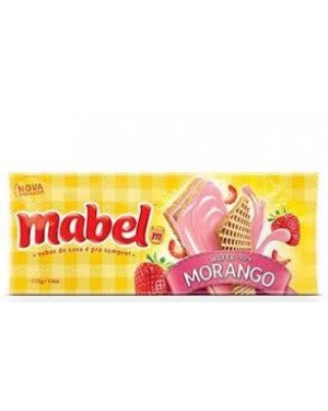 Biscoito Mabel Wafer 115G Morango