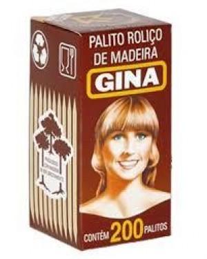 Palito Gina Dente 200 Unidades