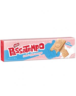 Biscoito Nestle Passatempo 150G Seco Doce Morango