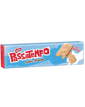 Biscoito Nestle Passatempo 150G Seco Doce Flocos