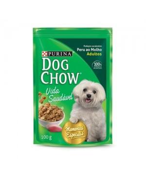 Ração Dog Chow 100G Sache Molho Peru