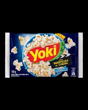 Pipoca Microondas Yoki 100G Manteiga Cinema