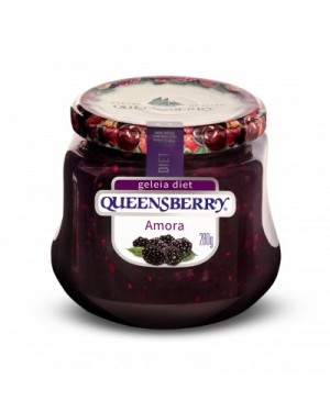 Geleia Queens Berry Diet 280G Amora