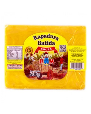 Rapadura Mineira H&M 500G Batida
