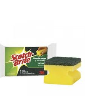 Esponja 3M Scoth Brite Salva Unhas