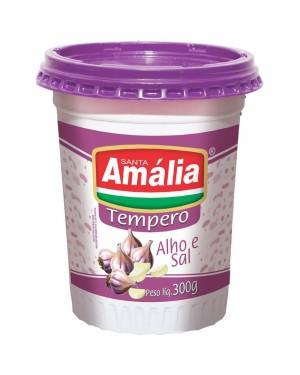 Tempero Alho e Sal Sta Amália 300g