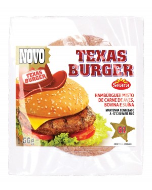 Hambúrguer Seara Texas Burger Misto 56G